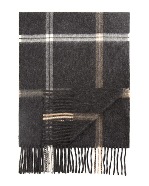 Plaid Windowpane Scarf by The Men's Store at Bloomingdale's in Billions - Season 1 Episode 1