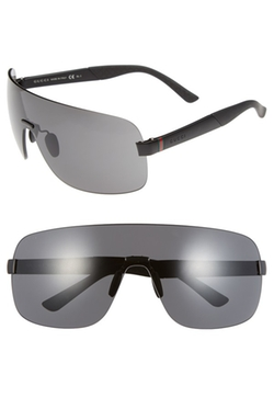 Shield Sunglasses by Gucci in Empire