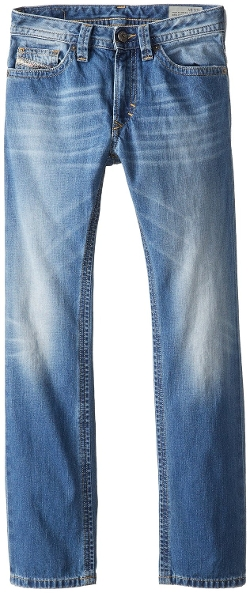 Big Boys' Thavar Slim Skinny Denim by Diesel in Max
