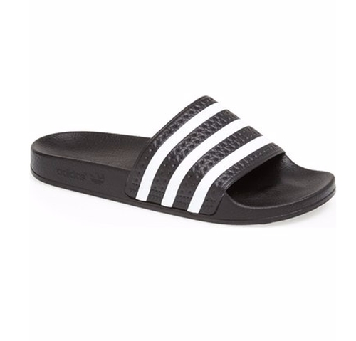 Adilette Slide Sandals by Adidas  in Keeping Up With The Kardashians - Season 12 Episode 15