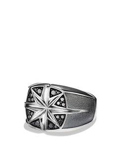 Maritime North Star Signet Ring by David Yurman in John Wick