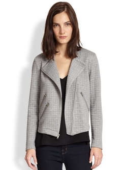 Duncan Quilted Knit Moto Jacket by Generation Love in How To Get Away With Murder