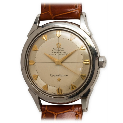 Stainless Steel Constellation Automatic Wristwatch by Omega in No Escape