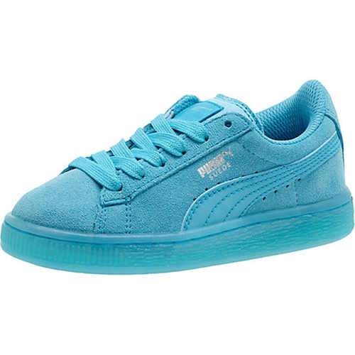 Suede Classic Iced Jr Sneakers by Puma in Trainwreck