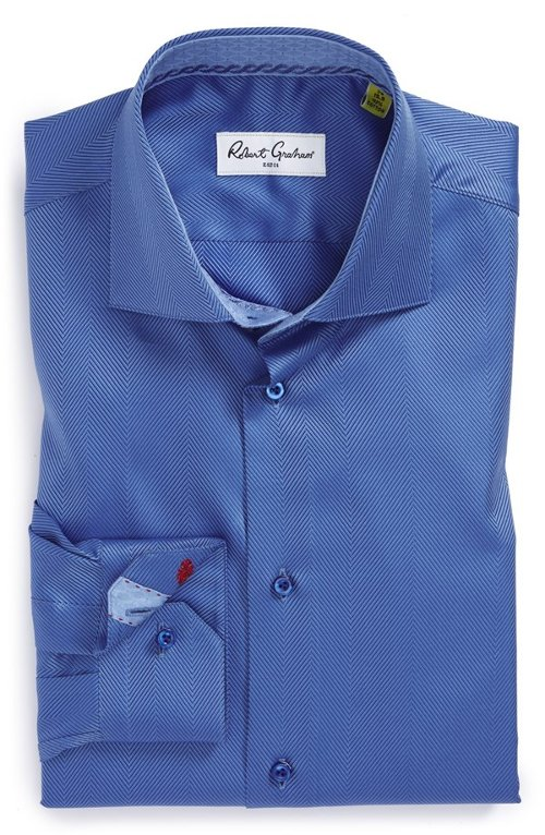 Regular Fit Dress Shirt by Robert Graham in The Loft