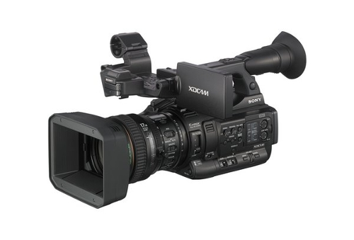 XDCAM XAVC HD422 Hand-Held Camcorder by Sony in While We're Young