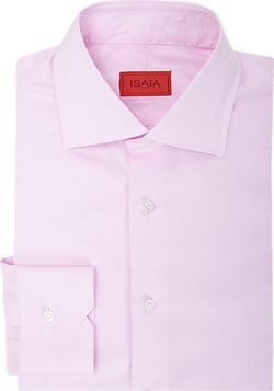 Solid Dress Shirt by Isaia in Empire