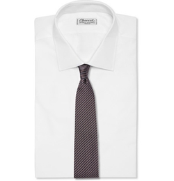 Striped Silk- Twill Tie by Paul Smith London in The Blacklist