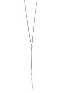 Sparkle Lariat Necklace by Jules Vance Jewelry in The Bachelorette