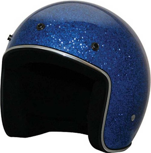 Retro Glitter Open Face Helmet by HCI in Get Hard