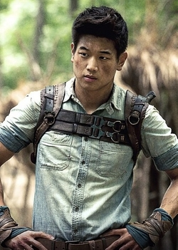 Custom Made Leather Chest Plate Harness (Minho) by Christine Bieselin Clark and Simonetta Mariano (Costume Designers) in Maze Runner: The Scorch Trials