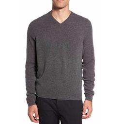 Cashmere V-Neck Sweater by Nordstrom Men's Shop in Designated Survivor