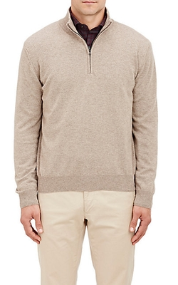 Half-Zip Sweater by Barneys New York in Silicon Valley