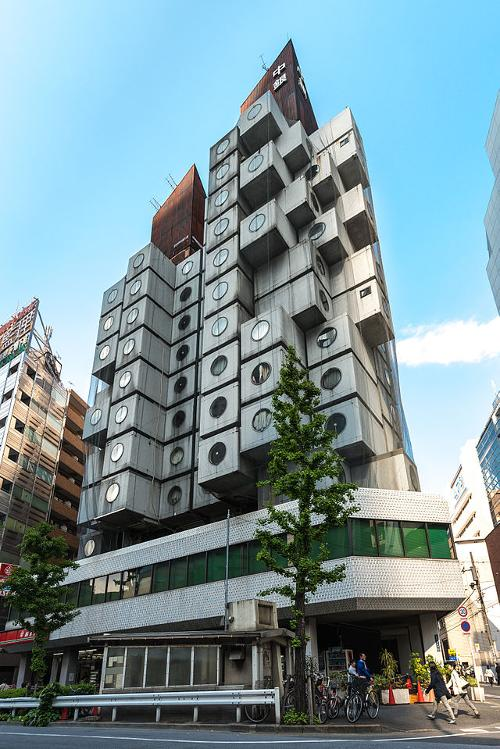 Nakagin Capsule Tower (Depicted as Love Hotel) Tokyo, Japan in The Wolverine