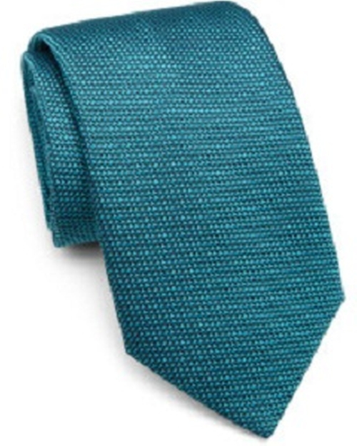 Textured Silk Tie by Charvet in Survivor