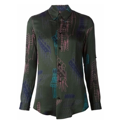 Digital Print Shirt by Julien David in Elementary