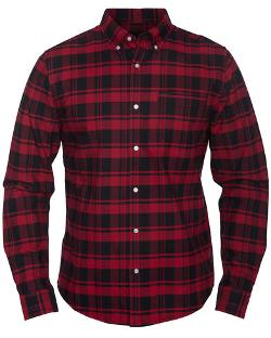 Mens Long Sleeve Shirt by Ace Oxford in Man of Steel