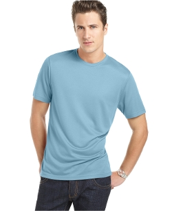 Core Luxe Crew Neck T-Shirt by Perry Ellis in Absolutely Anything