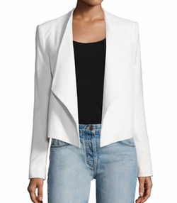 Claude Open-Front Shawl-Collar Blazer by Alice + Olivia in The Flash
