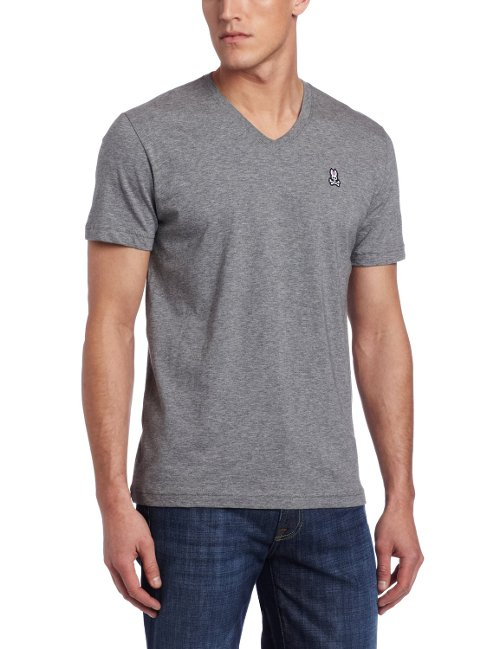 Men's V-Neck Tee Shirt by Psycho Bunny in That Awkward Moment