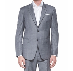 Bayard Sharkskin Wool Suit by Paul Smith in Ballers