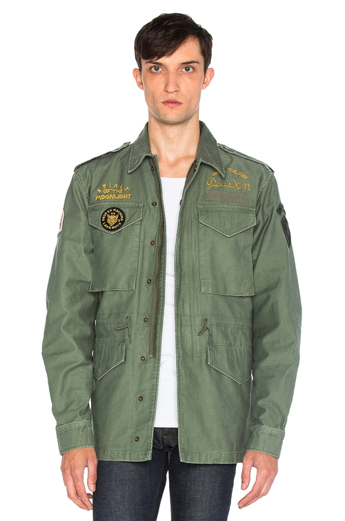 Land M65 Jacket by Deus Ex Machina in Me and Earl and the Dying Girl