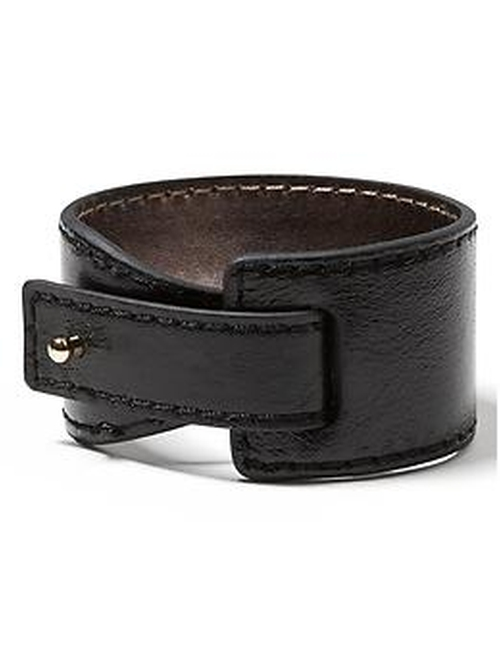 Leather Peg Cuff Bracelet by Banana Republic in Rock The Kasbah