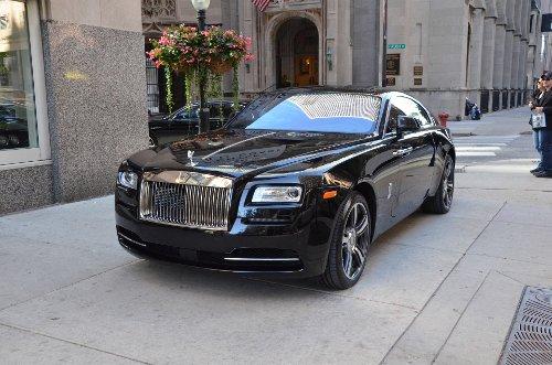 Wraith Coupé Car by Rolls-Royce in Spy