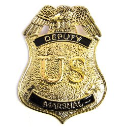 Men's Deputy Marshal Badge by HMS in Shutter Island