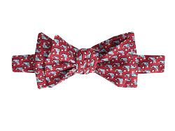 Printed Bow-Uncle Whale Tie by Vineyard Vines in Neighbors