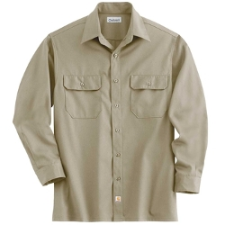 Men's Flame Resistant Long Sleeve Twill Shirt by Dickies in Max