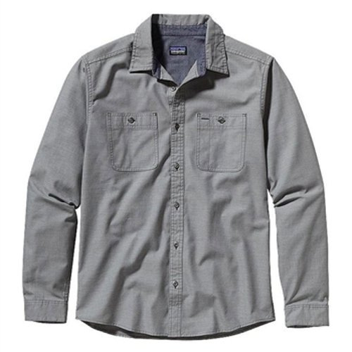 Men's Chambray Workwear Long Sleeve Shirt by Patagonia in Couple's Retreat