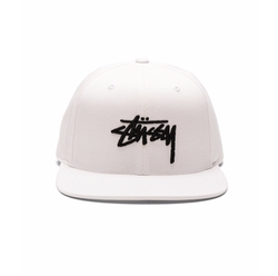 Stock SU16 Snapback Cap by Stussy in Bleed for This