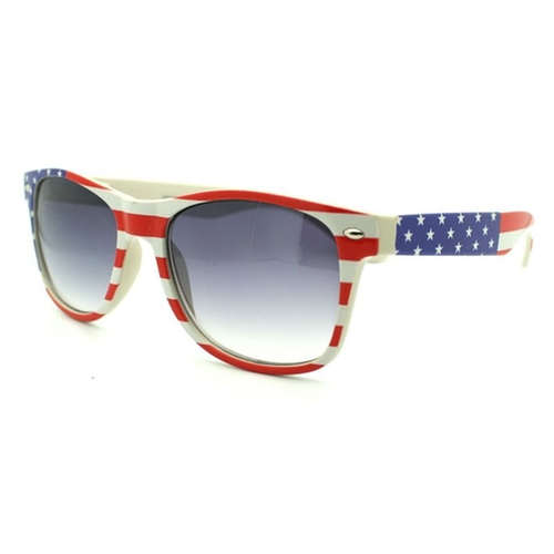 American Flag Print Sunglasses by JuicyOrange in How To Be Single