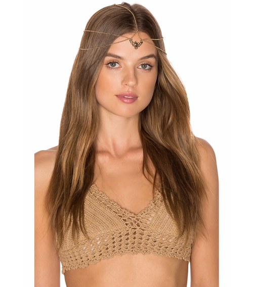 Cressida Headpiece by Grace Bijoux in We Are Your Friends