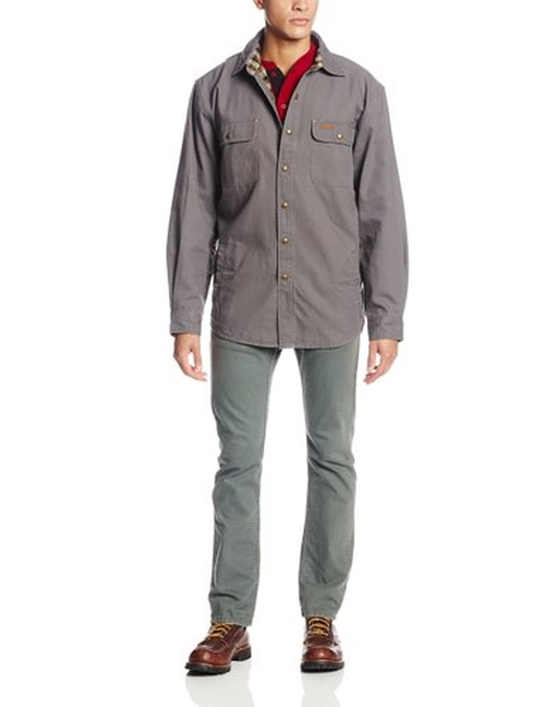 Weathered Canvas Shirt Jacket by Carhartt in The Big Bang Theory - Season 9 Episode 20