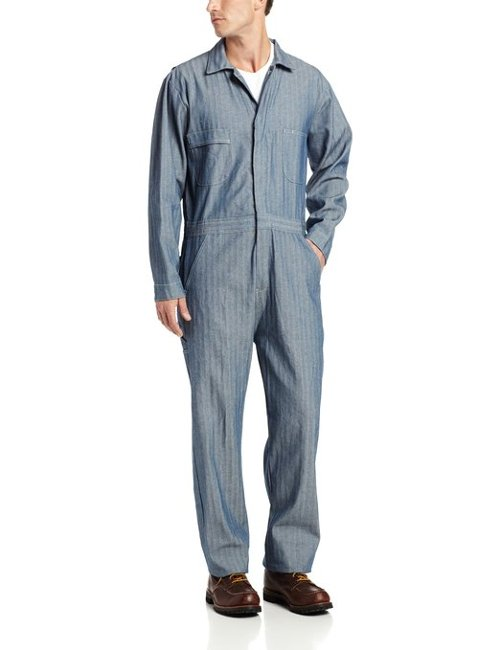 Men's Standard Unlined Coverall by Berne in The Best of Me