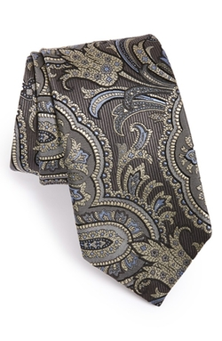 Paisley Silk Tie by David Donahue in Scandal