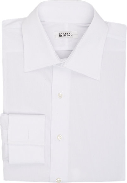 Poplin Dress Shirt by Barneys New York in She's Funny That Way