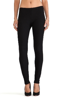 Cotton Fleece Lined Leggings by Plush in Thor