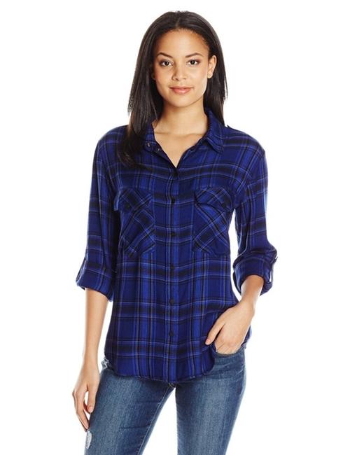 Women's Boyfriend Plaid Shirt by Sanctuary Clothing  in The Mick - Season 1 Preview