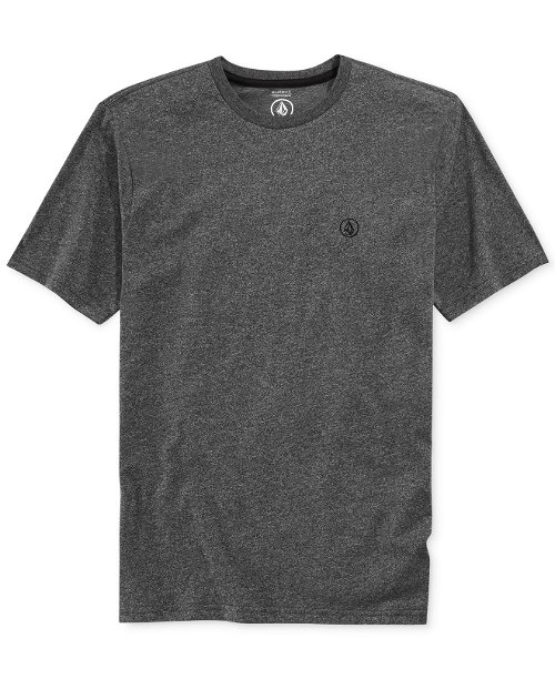 Crew-Neck Mock-Twist T-Shirt by Volcom in Get Hard