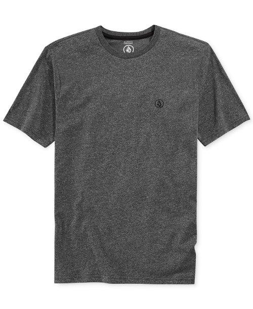 Crew-Neck Mock-Twist T-Shirt by Volcom in Get Hard