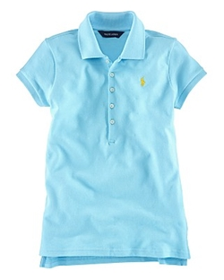 Childrenswear Stretch Mesh Polo Shirt by Ralph Lauren in Modern Family