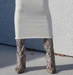 Season 4 Python Boots by Yeezy in Keeping Up With The Kardashians