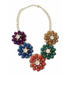 Multi-Colored Floral Necklace by Shoptiques in Fuller House