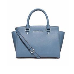 Selma Medium Satchel Bag by Michael Michael Kors in Sisters
