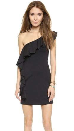 One Shoulder Flutter Dress by Susana Monaco in Scandal