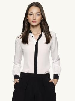 Color-Blocked Sloane Shirt by Ralph Lauren in Addicted