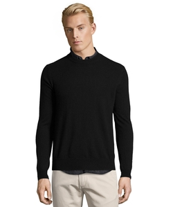 Cashmere Knit Crewneck Sweater by Harrison in Daredevil